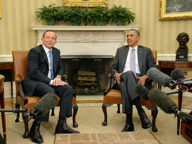 Defence talks ... the meeting came as the White House was scrambling to deal with a new crisis in Iraq.