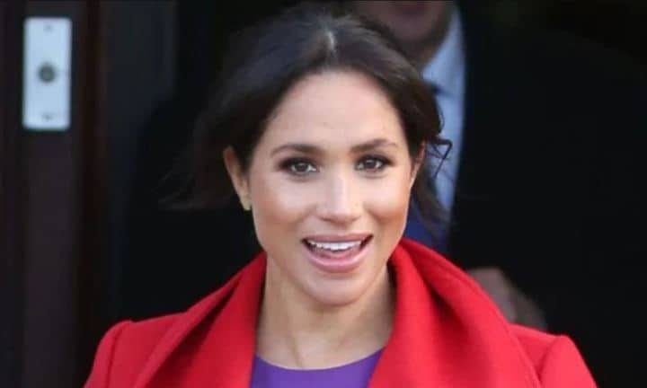 Hidden meaning behind Meghan's red and purple outfit