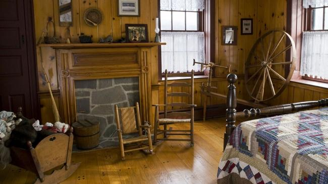 Inside Gettysburg's Historic Civil War Farmhouse, which was a makeshift hospice for Confederate soldiers. Picture: Airbnb
