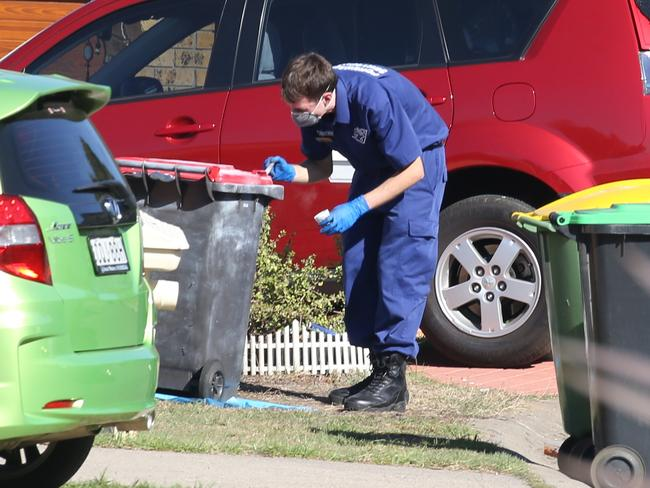 Mr Buxton was taking out the bins when he was executed. Picture: Chris Pavlich