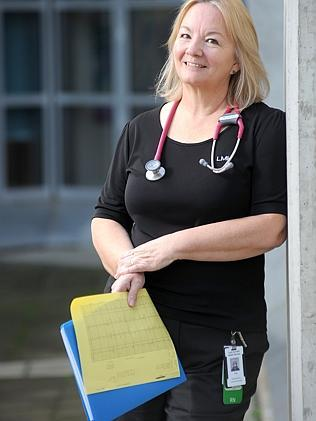 Dr Angela Kucia ... began researching the implications of a broken heart after seeing healthy, young women suffer heart attacks. Picture: Keryn Stevens.