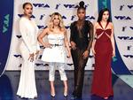 Dinah Jane, Ally Brooke, Normani Kordei and Lauren Jauregui of Fifth Harmony attend the 2017 MTV Video Music Awards at The Forum on August 27, 2017 in Inglewood, California. Picture: Getty