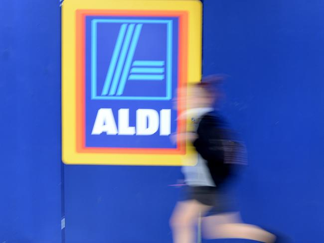 Aldi is has rated highly for customer satisfaction. Picture: Ian Svegovic