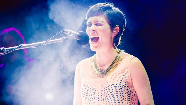 Missy Higgins performing recently at the Sundown Sessions concert in Scarborough. Source: Thomas Roy Photography