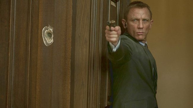 SECRET SERVICE: Daniel Craig returns as James Bond in new 007 film Skyfall