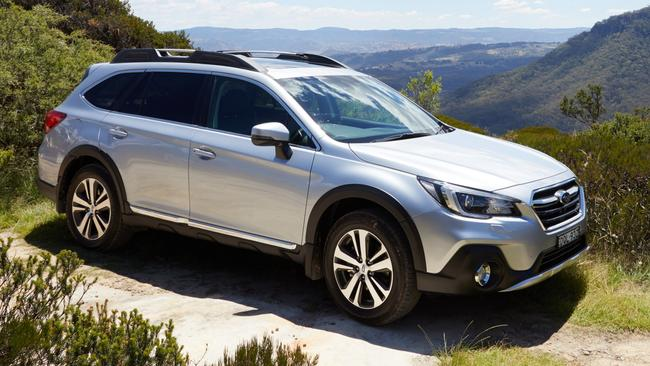 Subaru Outback 3.6R: New grille, bumper and wheels and tweaks to suspension.