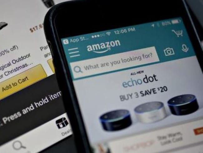 "Amazon launches in Australia, promising to deliver ""millions of new products"". Picture: Andrew Harrer/Bloomberg"