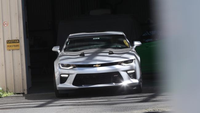Here's further proof the Camaro is coming to Holden showrooms next year. Picture: News Corp Australia.