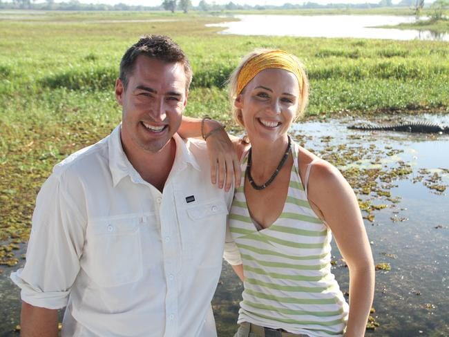 Is that a croc in the background? Picture: Places We Go.