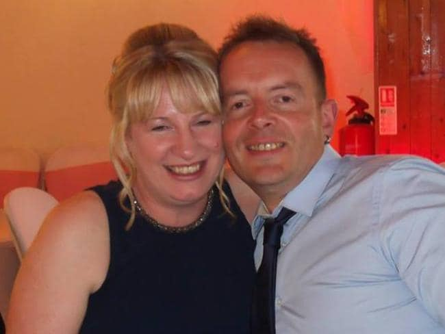 Tracy Houghton was killed and her partner Mark Goldsmith was injured. Picture: Facebook/Mark Goldsmith