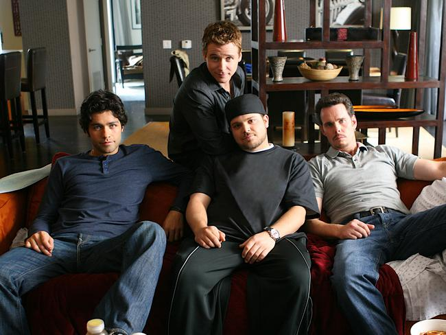 The Entourage stars: Adrian Grenier, Kevin Connolly Jerry Ferrara and Kevin Dillon.