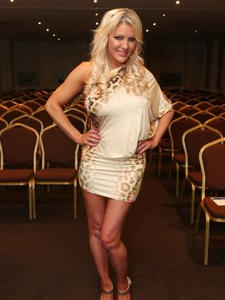 Brynne at the Mr World Finals.