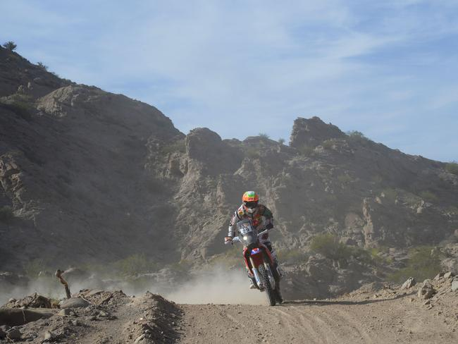 Laia Sanz's main focus is the legendary but dangerous Dakar Rally.