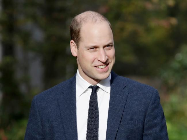 William, pictured late last year. Photo: John Phillips/Getty Images