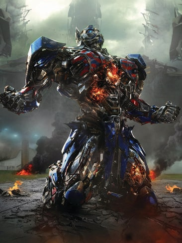 Optimus Prime returns from exile in the new movie.