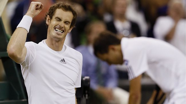 Andy Murray moved into his second-straight Wimbledon final with the win over Jerzy Janowicz.