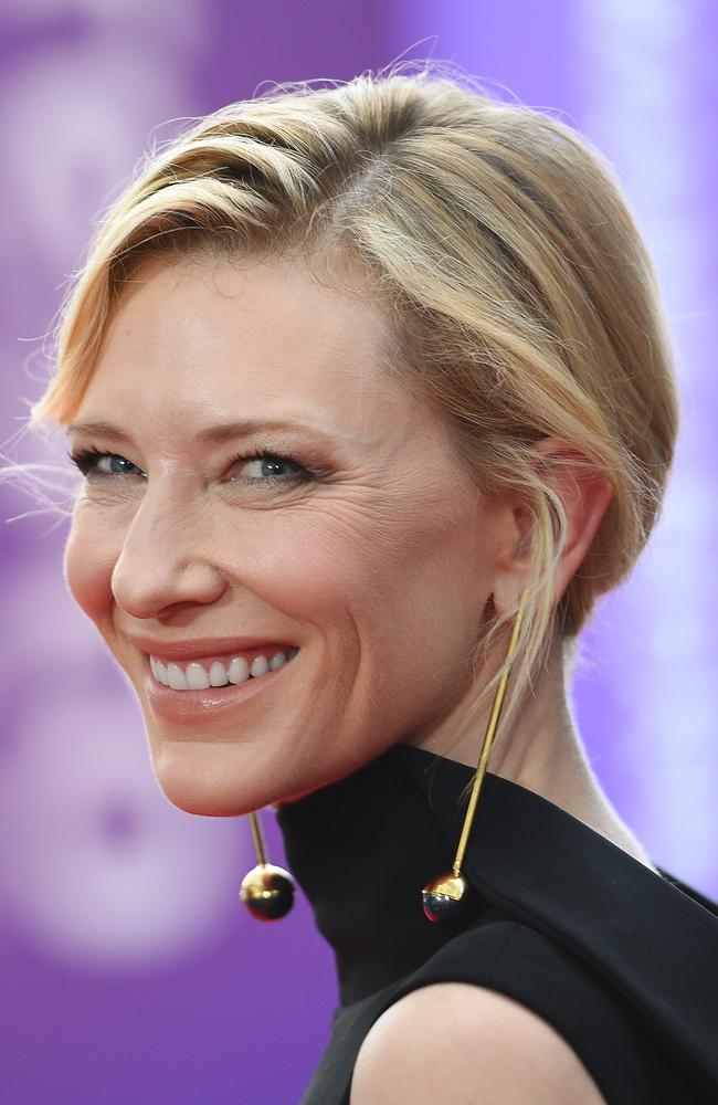Cate Blanchett arrives ahead of the 5th AACTA Awards Presented by Presto at The Star on December 9, 2015 in Sydney, Australia. Picture: AAP