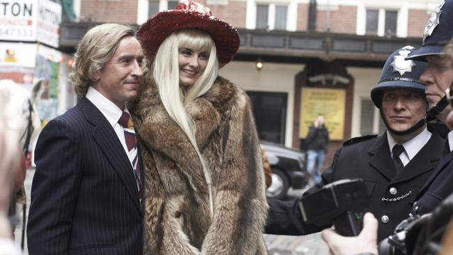 Steve Coogan and Tamsin Egerton in a scene from the film, The Look of Love Supplied by Madman