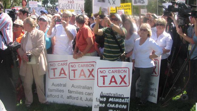 Climate rally canberra