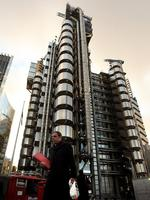 The Lloyd's building in London is also known as the inside outside building. It was designed by architect Richard Rogers and built between 1978 and 1986. Like the Pompidou centre in Paris, its staircases, water pipes and electrical power conduits are all on the outside making for an interesting concept in the heart of the City. Image: Getty.