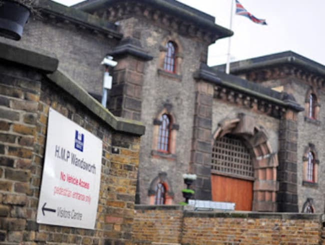 Wandsworth Jail is the largest in the United Kingdom with about 1800 inmates.