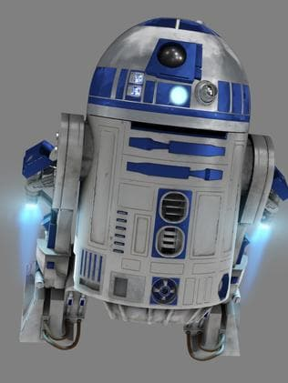 Rockets fired ... R2D2 had the ability to fly once.