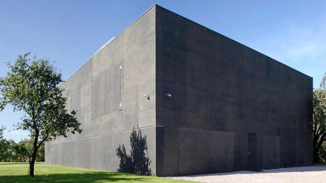 It provides maximum security within its two-storey movable walls. Picture: KWK Promes