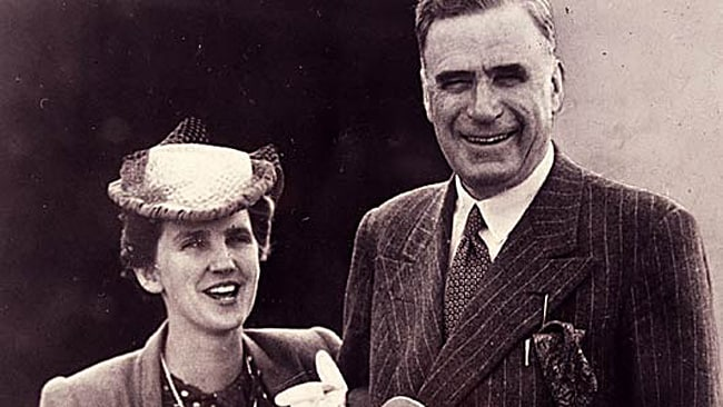 Sir Keith and Lady Elisabeth Murdoch.