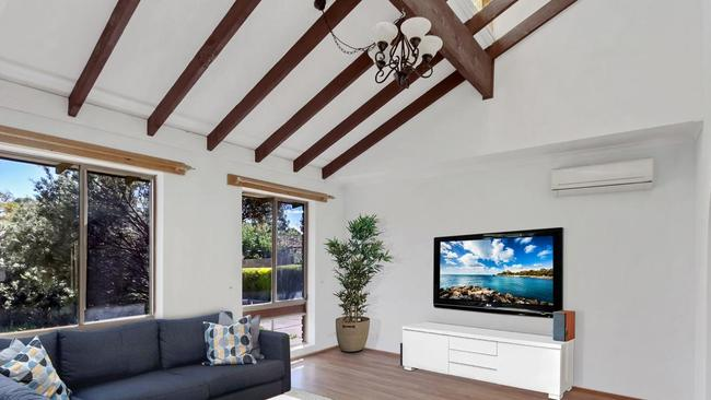 Apart from the termite damage, the home is well presented throughout.