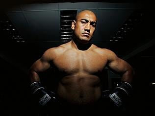 Logan City truck driver and part-time boxer Alex Leapai faces undisputed world heavyweigh