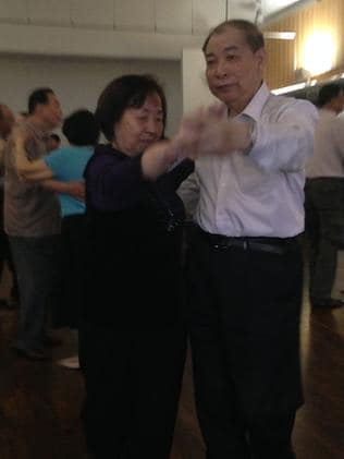 The Auburn City Council hosts ballroom dancing on Monday mornings for Chinese and Vietnamese seniors