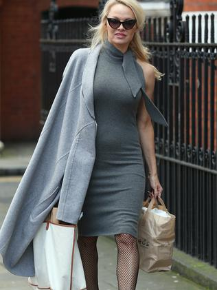 Pamela Anderson has been one of Julian Assange's biggest supporters, visiting him regularly. Picture: Supplied
