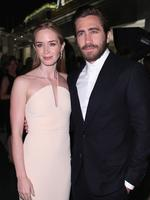 Emily Blunt and Jake Gyllenhaal attend the Calvin Klein celebration of Women in Film at the 2015 Cannes Film Festival. Picture: Getty