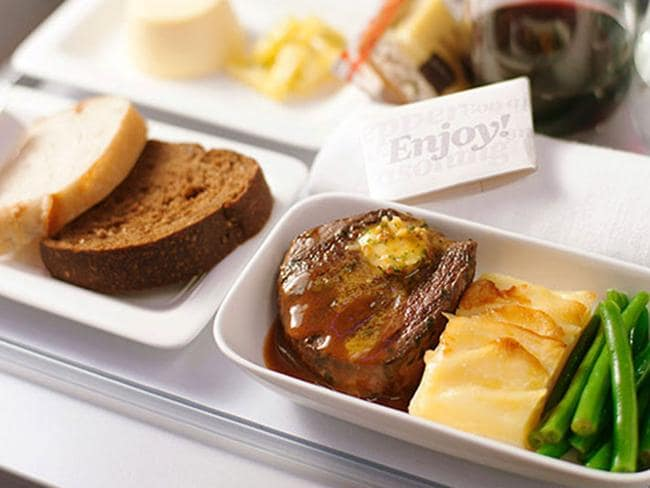 Yum. Photo: Courtesy of Air New Zealand