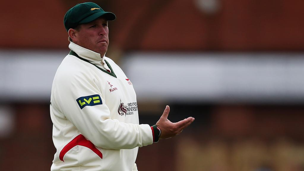 Mark Cosgrove lost his Redbacks contract last summer, but has continued his career in England where he plays for Leicestershire.