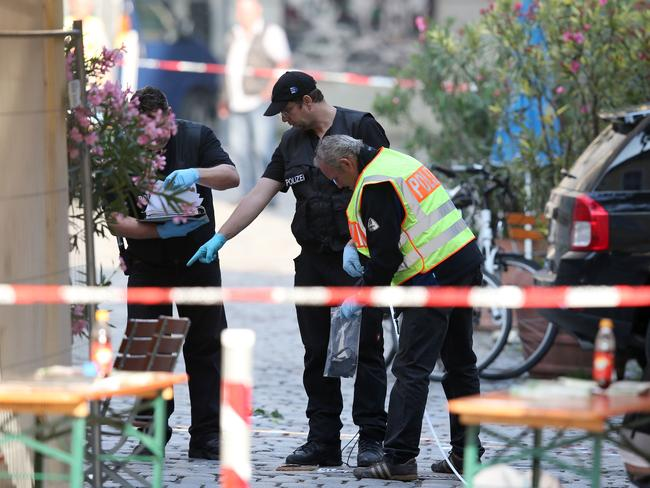 ansbach muslim Ansbach deputy police chief roman fertinger said there were indications that pieces of metal had been added to the explosive device the obvious intention to kill more people indicates an islamist connection, mr hermann said.
