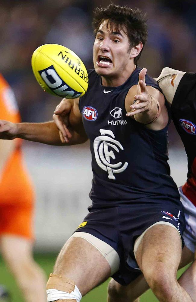 Troy Menzel is an exciting talent for the Blues. Picture: Michael Klein