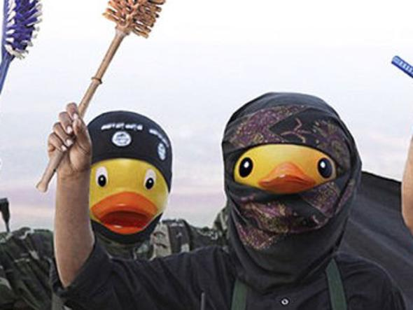 4Chan takes on ISIS, with rubber ducks