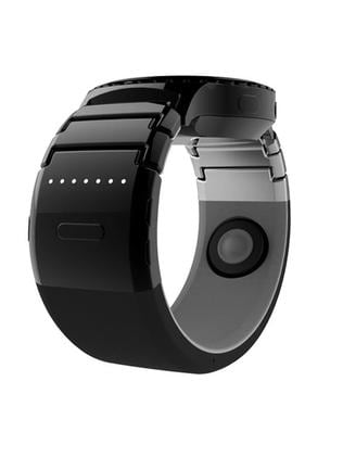 Powerful watch band ... Take phone calls by touching your ear