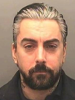 Convicted paedohile and Lostprophets singer Ian Watskins. Picture: Splash.