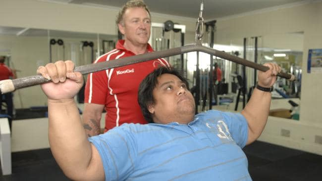 Johnee Auvale's weight loss battle on The Biggest Loser ...