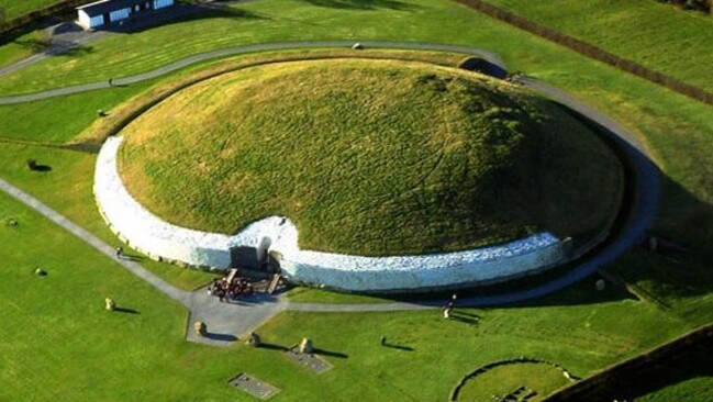 Megalithic tomb Newgrange in Ireland's Boyne Valley is 5200 years old but is gradually being shut off from visitors. Picture: newgrange.com