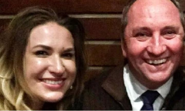 Barnaby Joyce and his pregnant partner Vikki Campion's first interview