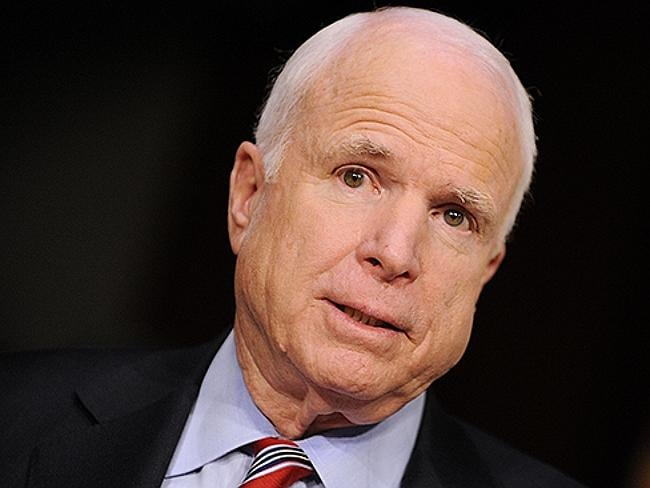 Has McCain gone under the knife? Mr Carr ponders.
