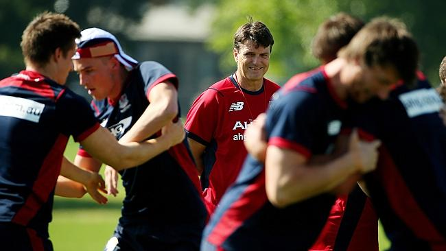 Paul Roos says he wants to win as many games as possible in 2014. Picture: Colleen Petch.