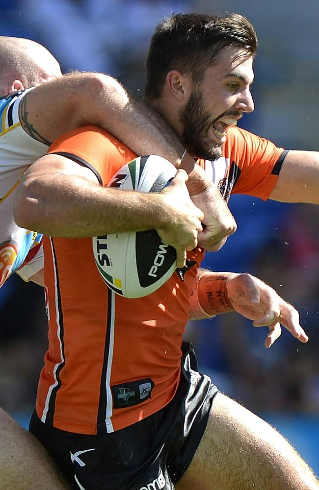 James Tedesco proved a constant handful.