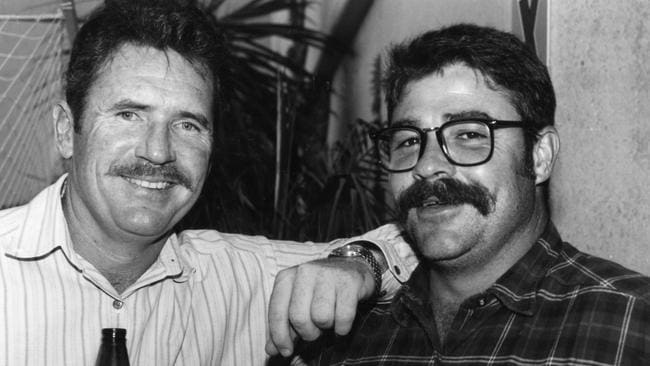 Allan Border and David Boon terrorised attacks for many years