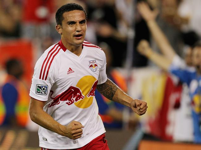 Tim Cahill has brought his trademark passion to New York.