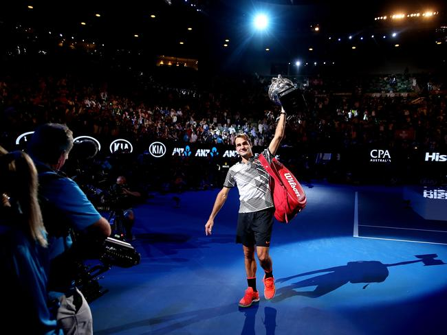 Australian open 2018 tennis ticket prices to soar slamming fans tickets to see the worlds best tennis players such as roger federer play at the 2018 australian open are going to cost more picture scott barbourgetty stopboris Choice Image