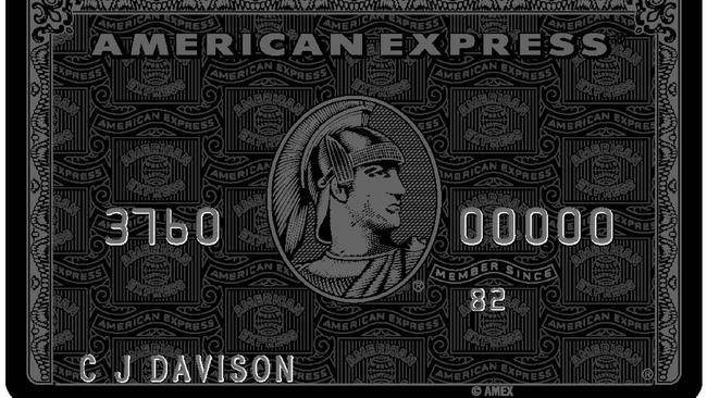 The credit card for millionaires – American Express Black Card Invitation